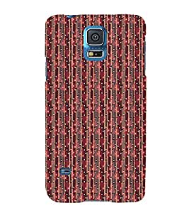 Colourful Pattern 3D Hard Polycarbonate Designer Back Case Cover for Samsung Galaxy S5 Neo :: Samsung Galaxy S5 Neo G903F :: Samsung Galaxy S5 Neo G903W