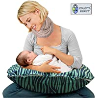 Kradyl Kroft 5in1 Baby Feeding Pillow with Detachable Cover (Turkish Tiger)