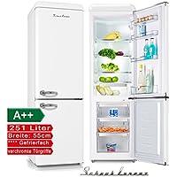 Schaub Lorenz sl250sw Réfrigérateur Congélateur Rétro Blanc Classe  d efficacité énergétique   A + 4dea2daabd7b