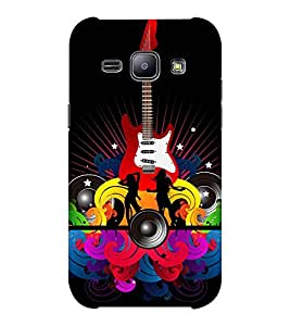 EPICCASE funky club Mobile Back Case Cover For Samsung J1 Ace (Designer Case)