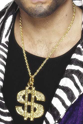 r Zeichen Medaillon, Kette, One Size, Gold, 26397 ()
