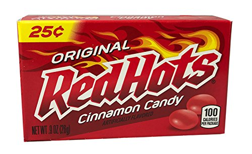 Red Hots - Cinnamon Flavored Candy (1x25.5g)