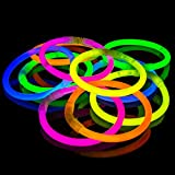 Picture of 100 Pack Premium Glowhouse Glow Stick Bracelets (Mixed)