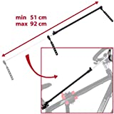 Ultrasport Men's Bicycle Assembly Stand Expert-Black, Red, One Size