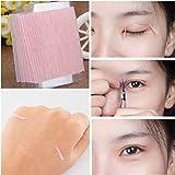 samLIKE 10 Blatt unsichtbare Faser Double Side Adhesive Augenlid Aufkleber