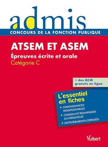 ATSEM et ASEM - Épreuves écrite et orale - Catégorie C