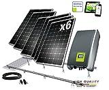Kit solar Autoconsumo 1500W Inyeccion Cero
