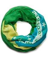 styleBREAKER leichter Brasilien Loop oder Schal im Flaggen Design / Unisex / Fanschal 01014037