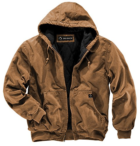 DRI Duck Herren Jacke Cheyenne Small Saddle (Rider Jacket Insulated)