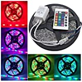 #9: Lowprice Online 5 Meter Waterproof RGB Remote Control LED Strip Light-Color Changing