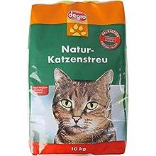 degro 420570 Litière pour Chat Naturel 10 kg
