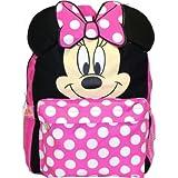Mochila pequeña–Disney–Minnie Mouse cara/oídos nuevo bolso de escuela 625955