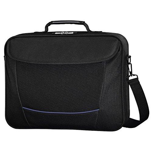 Preisvergleich Produktbild 'Hama Seattle Life 15.6Tasche schwarz–Schutzhülle (Tasche, Schwarz, monótono, Polyester, resistente Hat rayones, 400x 40x 290mm)