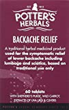 Potter's Backache Relief Tablets