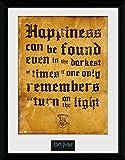 Harry Potter Happiness kann Gerahmter Fotodruck, 40x 30cm