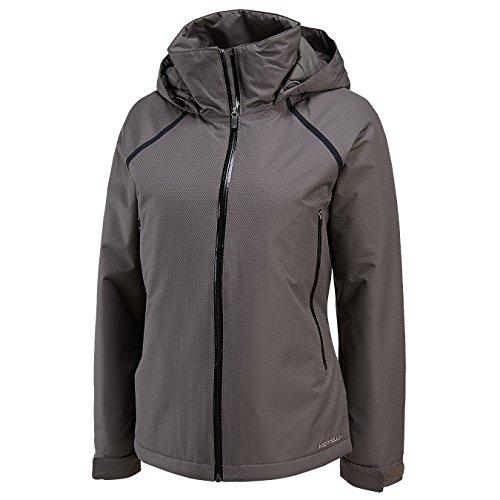 Merrell Alpena - Giacca termica da donna grigio - ombra
