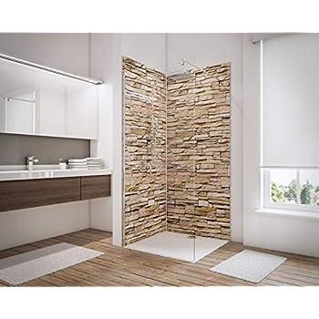 Schulte lot de 2 panneaux muraux d codesign d cor 3 Revetements muraux salle de bain