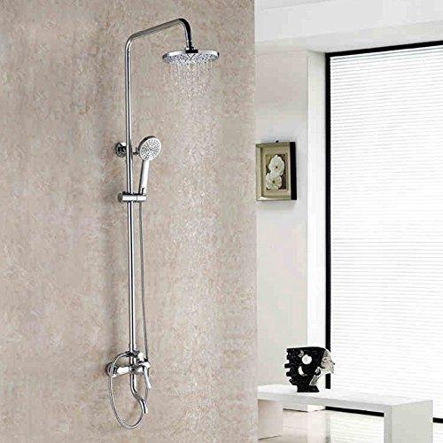 ZHFC-Bad-Accessoires il Caldo e il Freddo doccia rubinetto doccia rubinetto Set rame Corpo bagno doccia passaggio ugello circolare la valvola