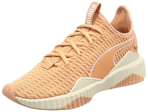 Puma Damen DEFY WN\'s Fitnessschuhe, Orange (Dusty Coral-Whisper White 05), 38.5 EU