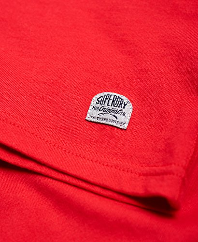 Superdry finery Goods T-Shirt Indiana Red Indiana Red