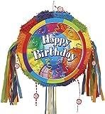 Brilliant Birthday Pinata, Pull String