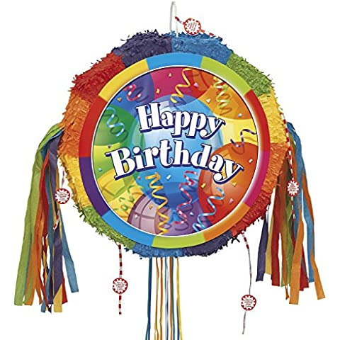 Suministros para fiestas Unique / tieback fiesta de cumpleaños colorida piñata