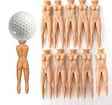 10pcs pelotas de golf tees de uñas T multifunción mujer arreglapiques