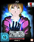 Fullmetal Alchemist: Brotherhood - Vol. 1 (Digipack im Schuber mit Hochprägung und Glanzfolie) [Blu-ray] [Limited Edtion] [Limited Edition]