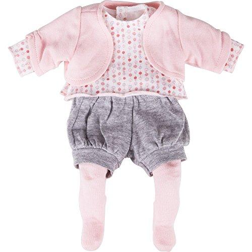Preisvergleich Produktbild Käthe Kruse 0136654 - Linda Outfit Bekleidung, 4-teilig