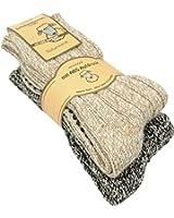 2 Paar , 4 Paar oder 6 Paar Norweger Strick-Socken mit Antirutsch Sohle, Woll Socken mit ABS Sohle. Hütten Socken