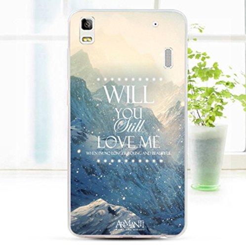 Prevoa ® 丨 LENOVO K3 NOTE (K50-T5) Funda - Colorful Silicona Protictive Funda Case para LENOVO K3 NOTE (K50-T5) 5,5 Pulgadas Smartphone - 15