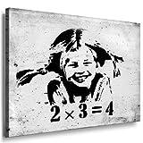 Fotoleinwand24 - Banksy Graffiti Art