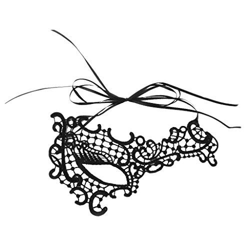 Frauen Ein Auge Spitze Mask Masquerade Ball Kostüm Party (Masquerade Kostüm Für Frauen)