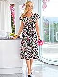 Damen Gartenkleid mit Blumenmuster 54 by m. collection
