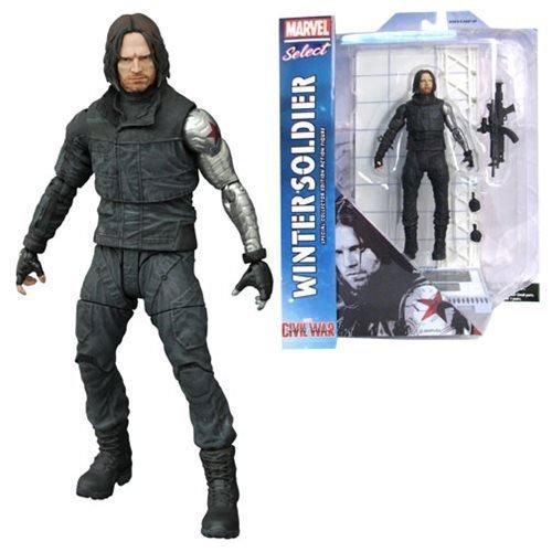 Marvel Select: Captain America: Bürgerkrieg: Winter Soldier Action Figur ()