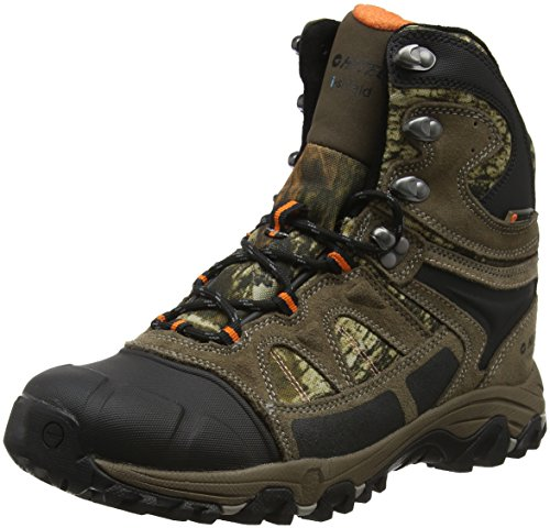 Hi-Tec Herren Altitude Lite Winter 200 I Waterproof Trekking-& Wanderstiefel, Braun (Brown/Camo), 42 EU (Camo Winter Boot)