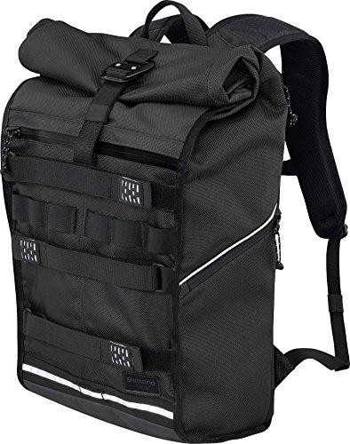 SHIMANO Tokyo Backpack 23 L Jet-Black 2018 Rucksack