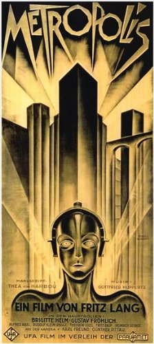 Metropolis Plakat Movie Poster (20 x 40 Inches - 51cm x 102cm) (1926) German C