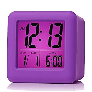 Plumeet Easy Setting Digital Travel Alarm Clock With