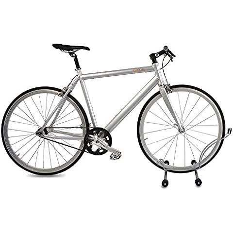 Delta Cycle Rothko Rolling Single Bike Floor Parking Stand Storage Rack by Delta Cycle