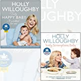 holly willoughby 2 books collection set - truly scrumptious baby[hardcover], truly happy baby ... it worked for me