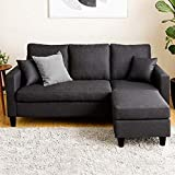 Furny Santa Clara Four Seater Sectional Interchangeable Sofa (Grey)