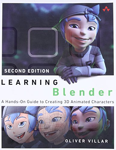 Learning Blender: A Hands-On Guide to Creating 3D Animated Characters (Addison-Wesley Learning) (3d Blender-buch)