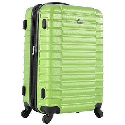 Vojagor 4 tlg. Trolley Koffer Hartschalen Set - Reisekoffer mit 4 Rollen 360°, S,M,L,XL (ineinander stapelbar) Farbwahl - 2
