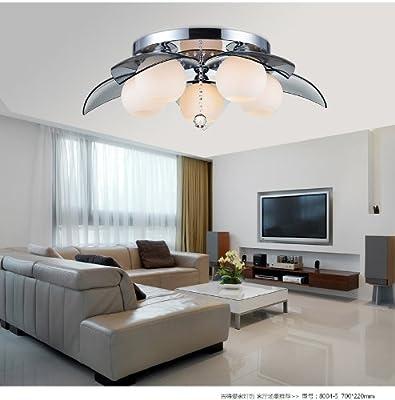 Schlafzimmer Decke mit minimalistischen modernen Wohnzimmer Speisezimmer Fernsehzimmer Beleuchtung LED-Kristall-Deckenleuchte Art