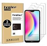 iVoler [Pack de 3] Verre Trempé pour Huawei P20 Lite, Film Protection en Verre...