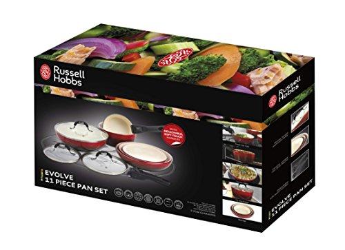 Russell Hobbs Evolve 11 Piece Pan Set
