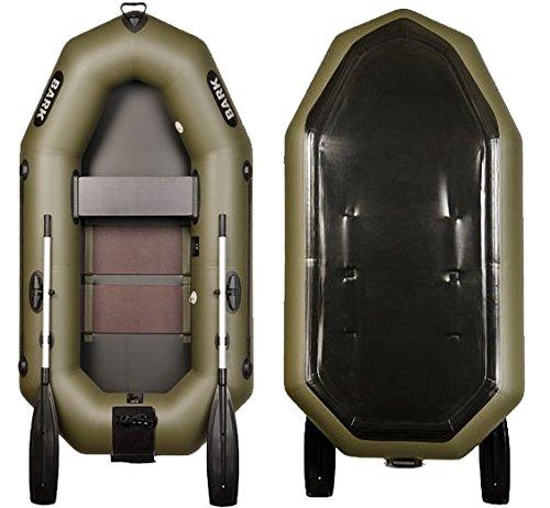 Bark B-220CN 2.2 m 7.2 ft Schlauchboot mit Heckspiegel für Motor Angelboot Motorboot Ruderboot Paddelboot Gummiboot Sportboot aufblasbar Boot