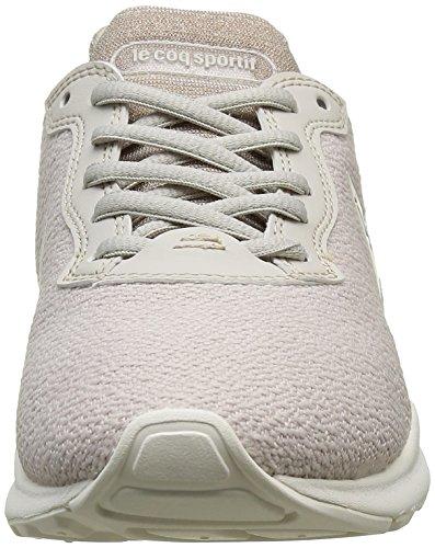 Le Coq Sportif Lcs R Xvi Glitter, Baskets Basses Femme Gris (Gray Morn)