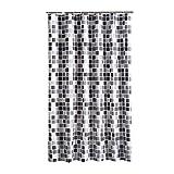 Duschvorhang 200x220 cm (BxH), Rosa Schleife Anti-Schimmel Anti-Bakteriell Wasserabweisender Shower Curtains Liner weichem Polyestergewebe Bath Curtains Vorhang aus Schöne Muster für Badezimmer WC